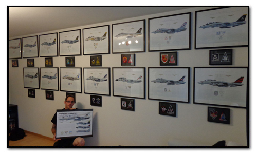 F-14 Tomcat Squadron Prints