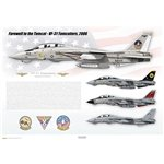 Farewell to the Tomcat, VF-31 Tomcatters, 2006 - Profile Print