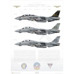 Final Gypsy Roll, VF-32 Swordsmen, 1974-2005 - Profile Print