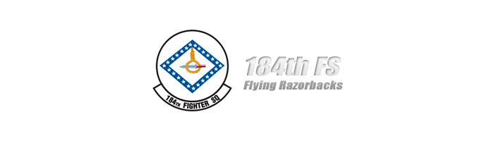 184th FS Flying Razorbacks