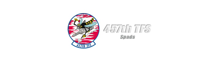 457th TFS Spads