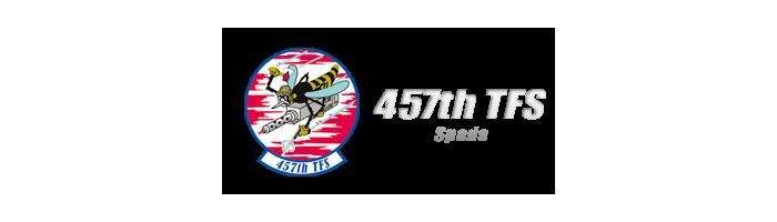 457th TFS Spads