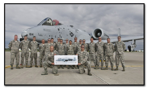 A-10C Thunderbolt II - 127th Wing, Selfridge ANGB, MI