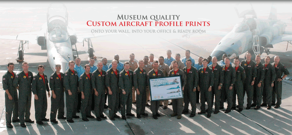 Welcome to AircraftProfilePrints.com™ - Museum Quality Custom Aircraft Profile Prints